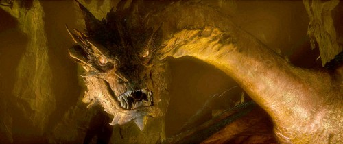 "Smaug, as depicted in'THE HOBBIT: THE DESOLATION OF SMAUG"" a New Line Cinema and MGM production. Photo courtesy of Warner Bros. Pictures"