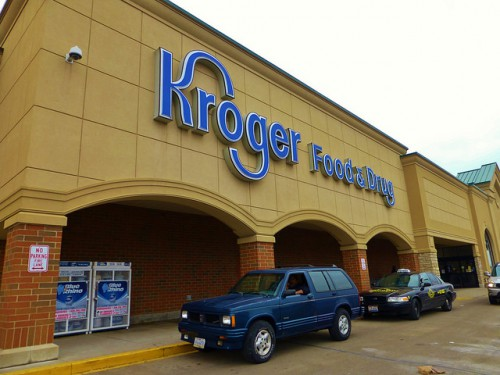 Kroger in my neighborhood in Dallas, Texas