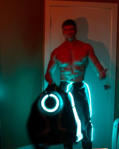 Greg Stevens Tron Halloween 2012