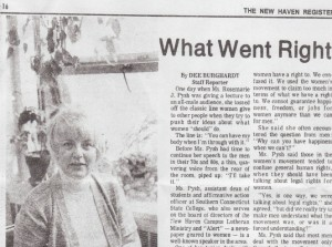 1976 News Story about what feminism got right and wrong in the 1960's