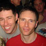 Greg and Jon, January 1, 2009