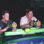 Greg Stevens saving the universe at Disney World